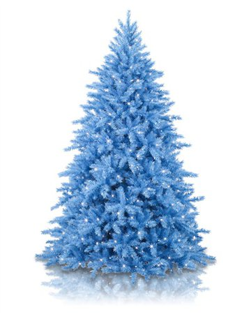Baby Blue Artificial Christmas Tree | Treetopia