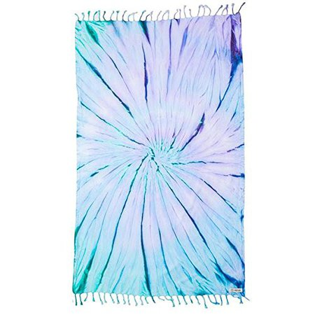 Amazon.com: Sand Cloud Luna Tie Dye Beach Towel Blanket Tapestry Wall Hanging - 100% Turkish Cotton As Seen on Shark Tank: Home & Kitchen
