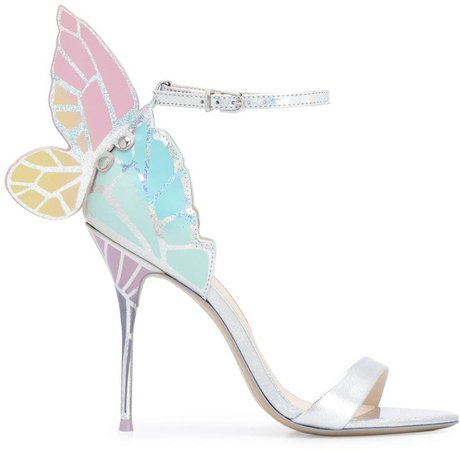 Faw butterfly sandals