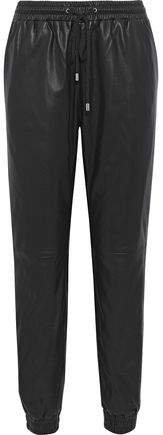 Baker Leather Track Pants