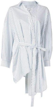Striped Asymmetric Shirt