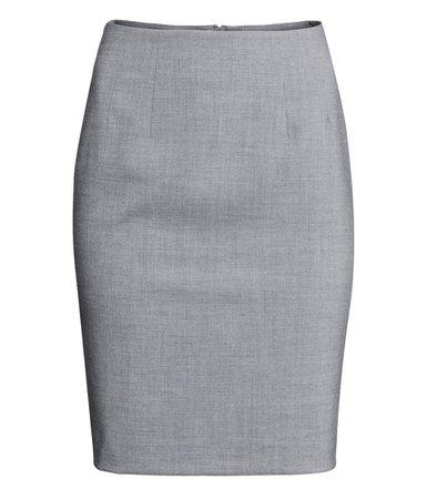 gray pencil skirt - Google Search