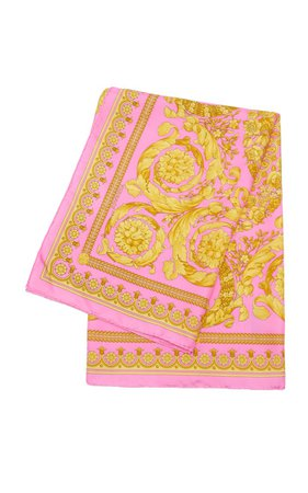 Printed Silk Scarf By Versace | Moda Operandi