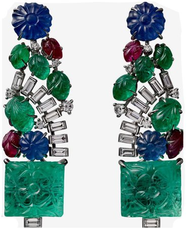 cartier tutti frutti earrings
