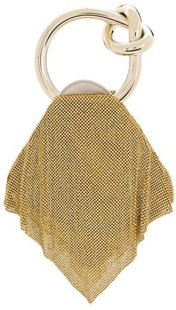 Benedetta Bruzziches Knot Detail Crystal-Embellished Tote