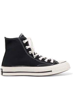 Converse | Chuck Taylor All Star 70 canvas high-top sneakers | NET-A-PORTER.COM