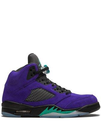 """Jordan Air Jordan 5 Retro """"Alternate Grape"""" sneakers - FARFETCH"""