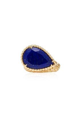 Lapis Lazuli Serpent Boheme Ring by Boucheron | Moda Operandi