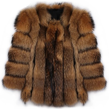 raccoon fur coat - Furocity Furs