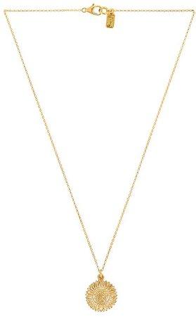 Electric Picks Jewelry Petal Necklace