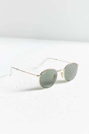 Ray-Ban Round Metal Classic Sunglasses   Urban Outfitters