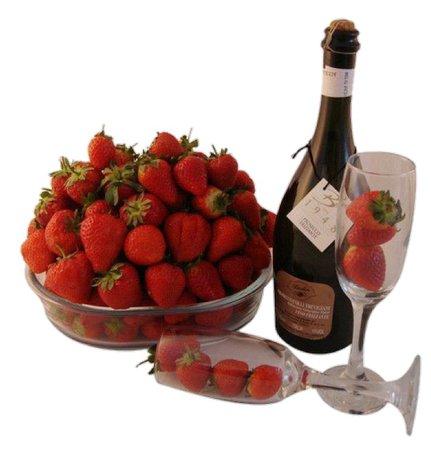 strawberries & champagne