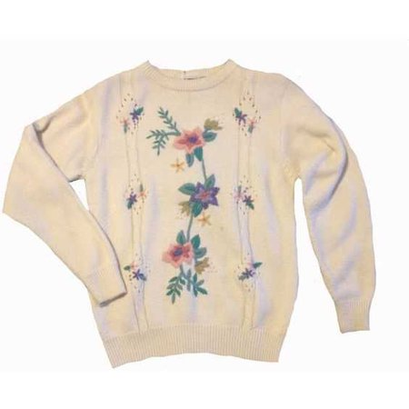 flower sweater