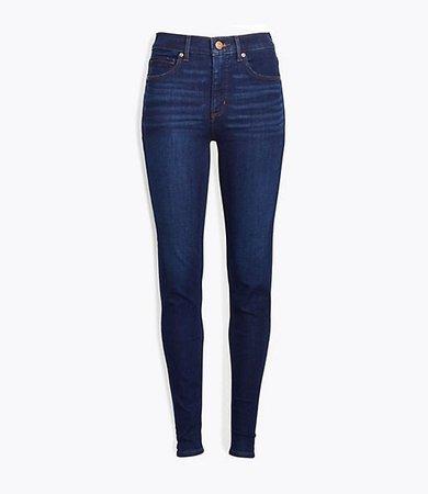 Tall Skinny Jeans in Classic Dark Indigo Wash