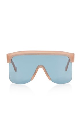 Oversized Tortoiseshell Acetate Sunglasses by Loewe Sunglasses | Moda Operandi