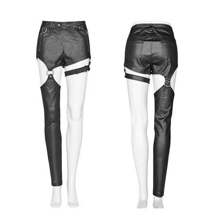 one legged pants