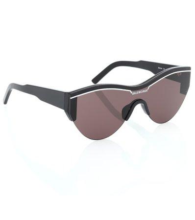 Ski Cat Sunglasses - Balenciaga | mytheresa.com