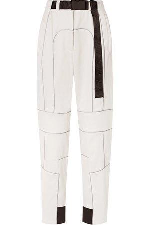 Nike   + AMBUSH NRG belted reflective-trimmed fleece pants   NET-A-PORTER.COM