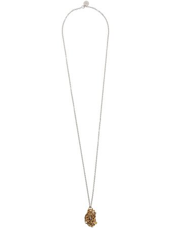 Silver & gold Marni cluster chain necklace - Farfetch