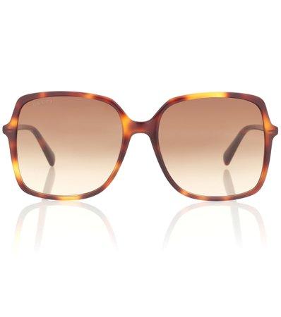 Oversized Square Sunglasses, Gucci