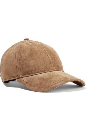 rag & bone   Marilyn leather-trimmed suede baseball cap   NET-A-PORTER.COM