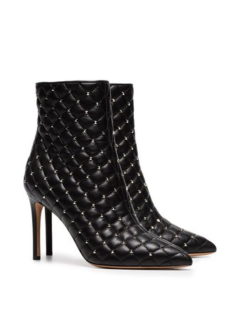 Valentino Garavani Rockstud Spike Ankle Boots | Farfetch.com