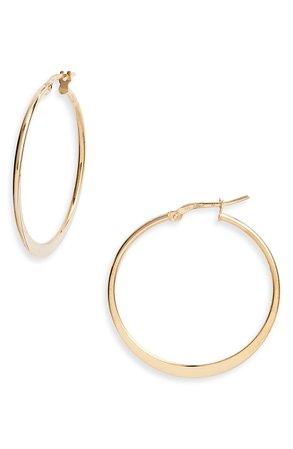 Argento Vivo Sterling Silver Small Hoop Earringss | Nordstrom