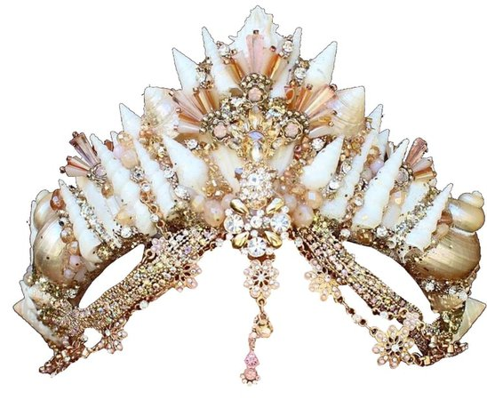 mermaid crown (i think) png on We Heart It