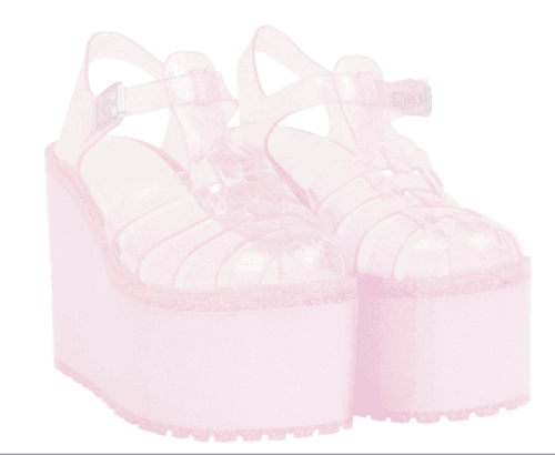 pink jelly platforms