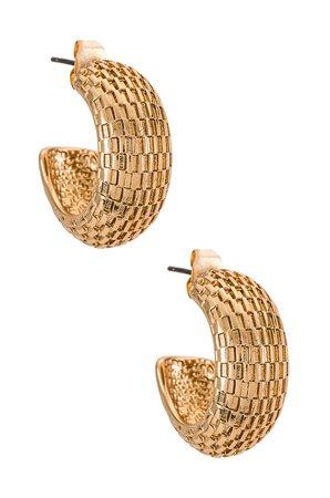 Epifene Dyrbar Earrings in Gold   REVOLVE
