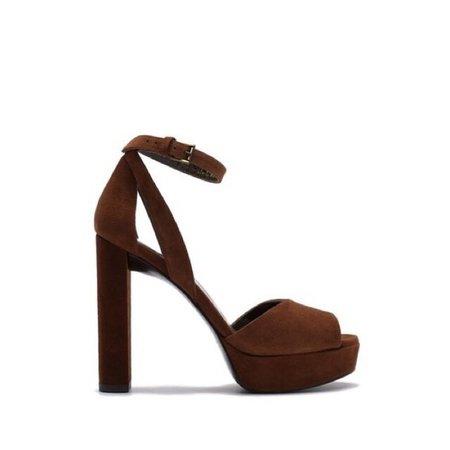 Stuart Weitzman Shoes | Hijinx Suede Platform Sandal | Poshmark