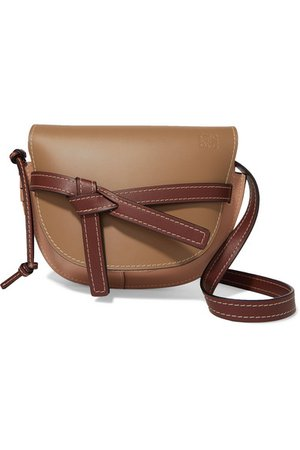 Loewe | Gate small leather shoulder bag | NET-A-PORTER.COM