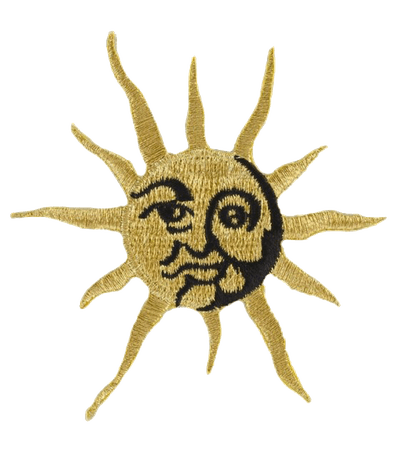 Gold Sun Patch pngs