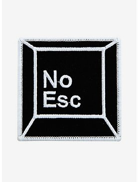Hot Topic -  No Escape Key Patch