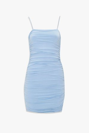 Ruched Bodycon Cami Dress