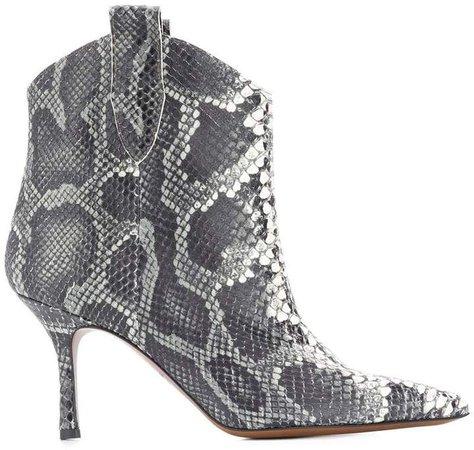 Marc Ellis snake effect boots