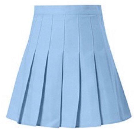 blue japanese tennis skirt