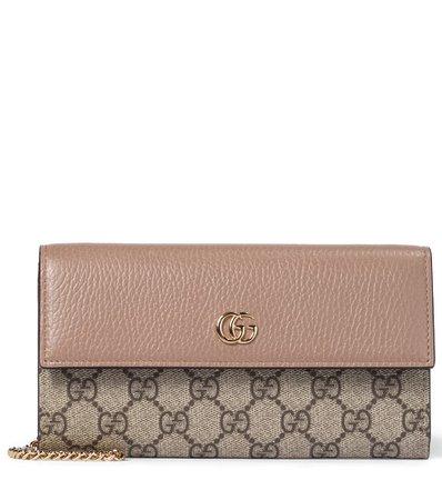 Gucci - Clutch portafoglio Ophidia GG | Mytheresa