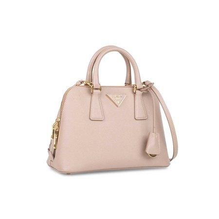 prada saffiano blush bag mini