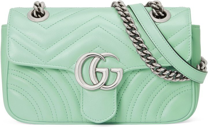 Mini GG 2.0 Matelasse Leather Shoulder Bag
