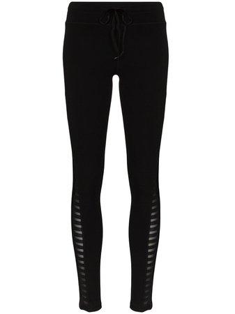 The Upside Side Stripe Yoga Leggings - Farfetch