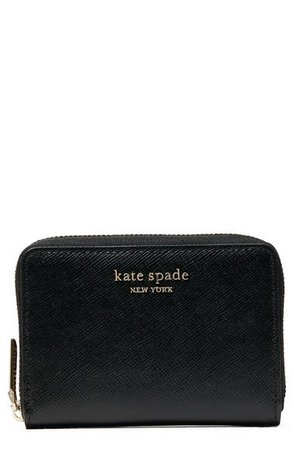 kate spade new york spencer zip leather card case | Nordstrom