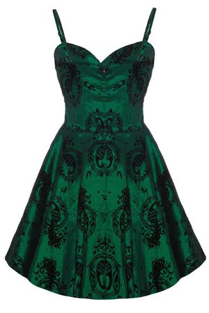 Emerald Green Dress (Sweetheart-Neckline)