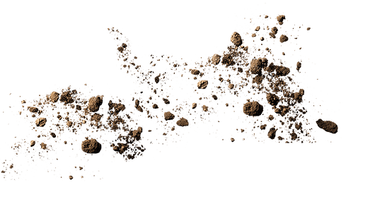 Flying Dirt transparent PNG - StickPNG