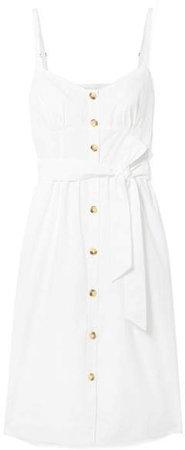 Rossini Cotton-poplin Dress - White