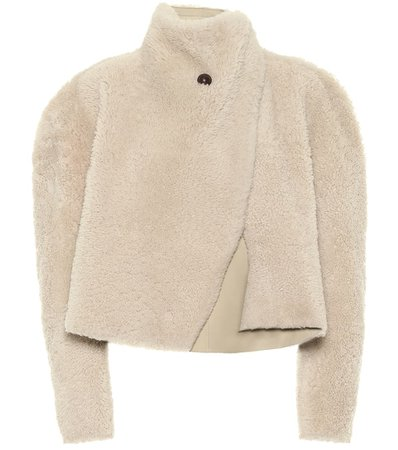 Isabel Marant, Acaciae shearling cropped Coat jacket