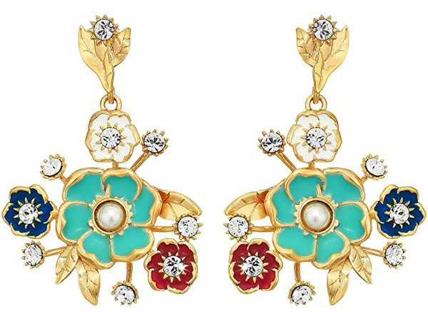 SOLE / SOCIETY Drama Bouquet Earrings | Zappos.com