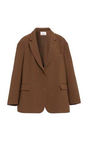 Bea Oversized Padded-Should Woven Blazer By The Frankie Shop | Moda Operandi