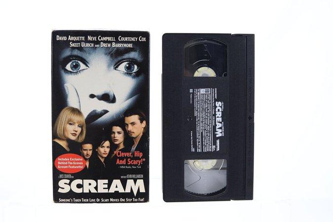 Scream VHS Tape | Etsy