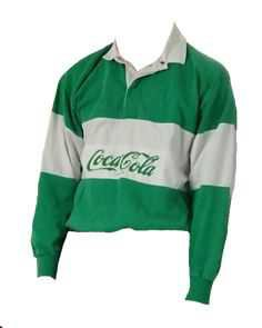 green coca-cola shirt